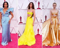 The Best Dressed Female Celebs At The 2021 Oscars